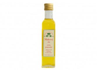 Makový olej  extra panenský 0,25l