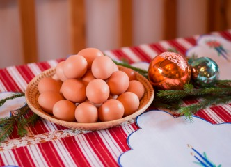 Domáce vajcia XL - 30 ks
