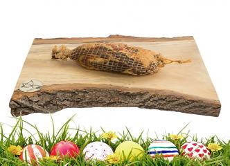 Údená rolovaná šunka z mangalice v sieťke
